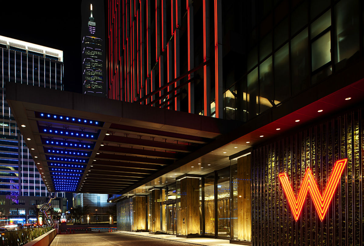 W taipei hotel upgrades weekend blitz for Design hotel taiwan